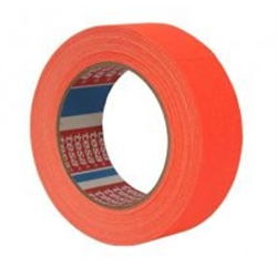 tesa® 4671 tesaBand Premium Naranja Fluorescente Mate