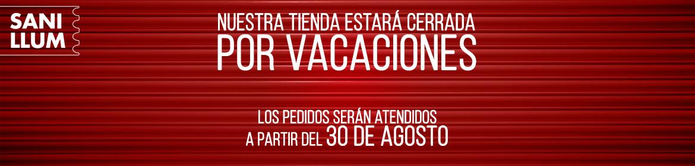 Cerrado por vacaciones 2020